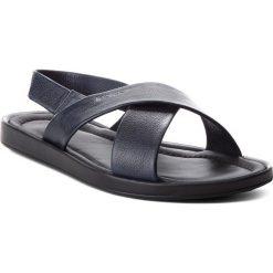 Sandały KAZAR - Harry 29447-01-N9 Navy. Niebieskie sandały męskie Kazar, ze skóry. W wyprzedaży za 229.00 zł.
