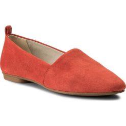 Półbuty VAGABOND - Sandy 4503-040-73 Coral. Czerwone półbuty damskie Vagabond, ze skóry. W wyprzedaży za 229.00 zł.