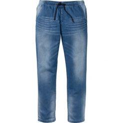 Dżinsy dresowe Regular Fit Straight bonprix jasnoniebieski. Jeansy męskie marki bonprix. Za 109.99 zł.