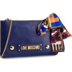 Torebka LOVE MOSCHINO - JC4042PP17LD0750 Blu. Niebieskie torebki do ręki damskie Love Moschino, ze skóry ekologicznej. Za 479.00 zł.