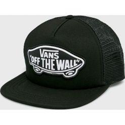 Vans - Czapka. Czarne czapki i kapelusze damskie Vans, z bawełny. Za 99.90 zł.