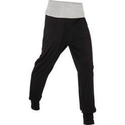 Spodnie alladynki, długie, Level 1 bonprix czarno-jasnoszary melanż. Spodnie materiałowe damskie marki Nike. Za 69.99 zł.