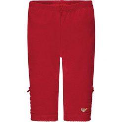 Legginsy w kolorze czerwonym. Legginsy dla dziewczynek marki OROKS. W wyprzedaży za 49.95 zł.