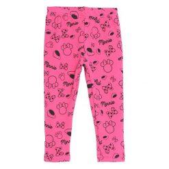 Ciemnoróżowe Legginsy Blackberry. Czerwone legginsy dla dziewczynek Born2be. Za 24.99 zł.