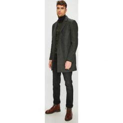 Tom Tailor Denim - Płaszcz. Czarne płaszcze męskie Tom Tailor Denim, z bawełny, klasyczne. W wyprzedaży za 339.90 zł.