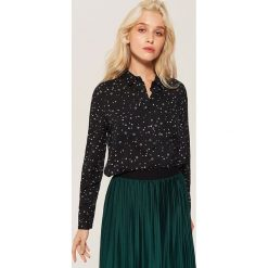 Koszula z wiskozy - Wielobarwn. Czarne koszule damskie House, z wiskozy. Za 59.99 zł.