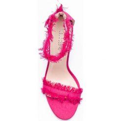 Public Desire - Sandały Effy Pink Denim. Sandały damskie marki bonprix. W wyprzedaży za 69.90 zł.