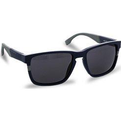 Okulary przeciwsłoneczne BOSS - 0916/S Mtblue Grey 1X4. Niebieskie okulary przeciwsłoneczne damskie Boss, z tworzywa sztucznego. W wyprzedaży za 499.00 zł.