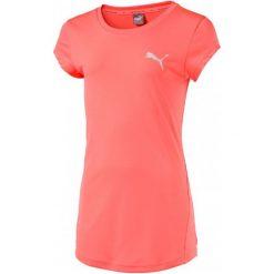 Puma Koszulka Active Dry Ess Tee G Nrgy Peach 110. Pomarańczowe t-shirty i topy dla dziewczynek Puma, z materiału. W wyprzedaży za 44.00 zł.