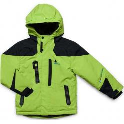 Kurtka narciarska w kolorze zielonym. Zielone kurtki i płaszcze dla chłopców Peak Mountain. W wyprzedaży za 252.95 zł.