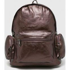 Answear - Plecak. Brązowe plecaki damskie ANSWEAR, z materiału. W wyprzedaży za 49.90 zł.