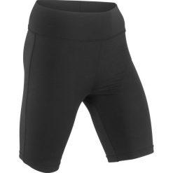 Kolarki sportowe bonprix czarny. Spodnie dresowe damskie marki bonprix. Za 54.99 zł.