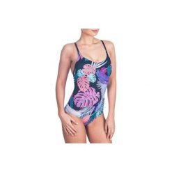 Strój jednoczęściowy pływacki Riana damski. Niebieskie kostiumy jednoczęściowe damskie NABAIJI. Za 79.99 zł.