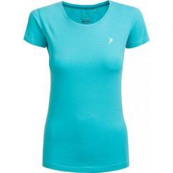 T-shirt damski  TSD600 - mięta - Outhorn. Brązowe t-shirty damskie Outhorn, z bawełny. W wyprzedaży za 24.99 zł.