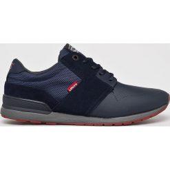Levi's - Buty NY Runner II. Brązowe buty sportowe męskie Levi's, z gumy. Za 289.90 zł.