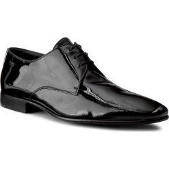 Półbuty BOSS - Cristallo 50210245 10126204 Black 001. Czarne eleganckie półbuty Boss, z lakierowanej skóry. W wyprzedaży za 989.00 zł.