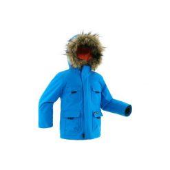 Kurtka SH500 x-WARM dla dzieci. Niebieskie kurtki i płaszcze dla chłopców QUECHUA. Za 169.99 zł.