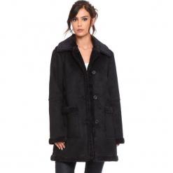 """Płaszcz """"Lola"""" w kolorze czarnym. Czarne płaszcze damskie Cosy Winter, na zimę. W wyprzedaży za 272.95 zł."""