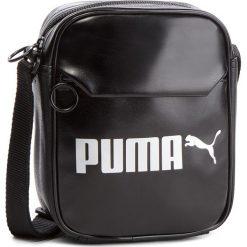 Saszetka PUMA - Campus Portable 075004 01  Puma Black. Czarne saszetki męskie Puma, ze skóry ekologicznej, młodzieżowe. Za 99.00 zł.