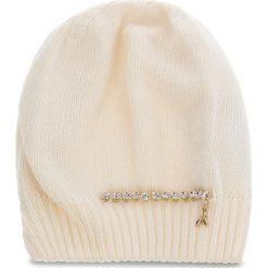 Czapka PATRIZIA PEPE - 2V8388/A3IP-I2XG  White/Shiny Crystal. Białe czapki i kapelusze damskie Patrizia Pepe, z kaszmiru. Za 289.00 zł.
