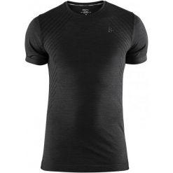Craft Koszulka Sportowa Męska Fuseknit Comfort Ss Black Xxl. Czarne koszulki sportowe męskie Craft, na zimę, z krótkim rękawem. Za 119.00 zł.