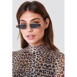 NA-KD Accessories Okulary przeciwsłoneczne z mostkiem - Black - 2