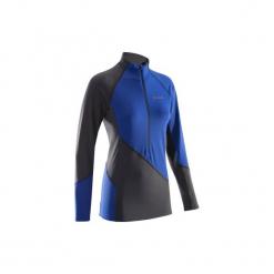 Bluza termiczna damska. Niebieskie bluzy damskie SIMOND, z elastanu. Za 99.99 zł.