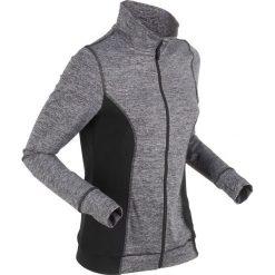Bluza rozpinana funkcyjna z mikropolaru, wyszczuplająca, długi rękaw bonprix szary melanż. Szare bluzy damskie marki Sinsay, z motywem z bajki. Za 59.99 zł.