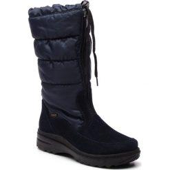 Śniegowce ROMIKA - Ischgl 02 58302 60 530 Ocean. Niebieskie kozaki damskie Romika, z materiału. Za 439.00 zł.