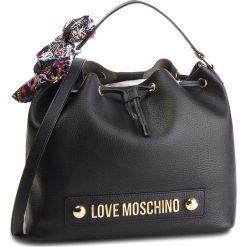 Torebka LOVE MOSCHINO - JC4122PP16LV0000 Nero. Czarne torebki do ręki damskie Love Moschino, ze skóry ekologicznej. Za 839.00 zł.