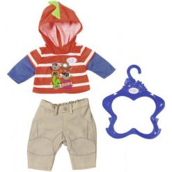 Baby Born Ubranko Chłopięce – Pomarańczowa Bluza. Bluzy dla niemowląt Baby Born, z nadrukiem. W wyprzedaży za 40.00 zł.