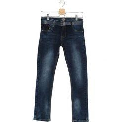 Granatowe Jeansy Make A Mistake. Jeansy dla chłopców marki Reserved. Za 34.99 zł.