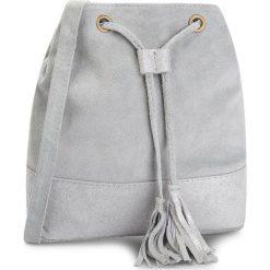 Torebka CREOLE - K10481 Szary. Szare torebki do ręki damskie Creole, ze skóry. Za 119.00 zł.
