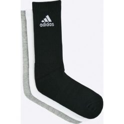 Adidas Performance - Skarpetki (3-pack). Szare skarpety damskie adidas Performance, z bawełny. Za 49.90 zł.