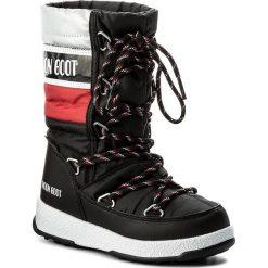 Śniegowce MOON BOOT - We Quilted Jr Wp 34051500001 Nero/Rosso/Ar. Śniegowce dziewczęce Moon Boot, z materiału. W wyprzedaży za 279.00 zł.