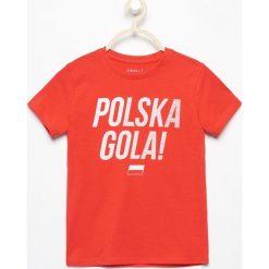 T-shirt polska gola - Czerwony. T-shirty damskie marki Reserved. W wyprzedaży za 19.99 zł.