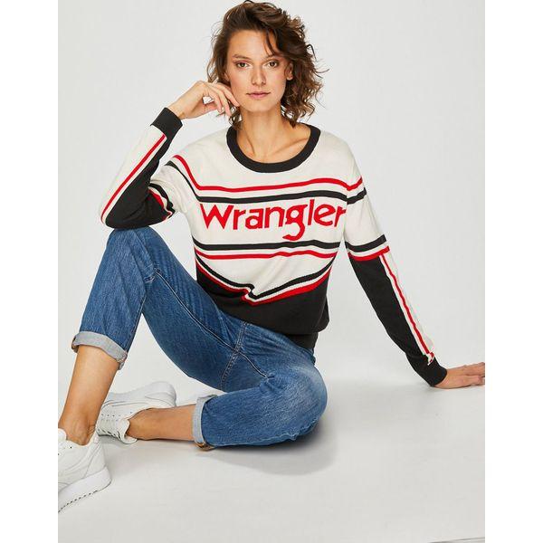 ad8cefadd8 Wrangler - Sweter - Swetry damskie marki Wrangler. Za 269.90 zł ...