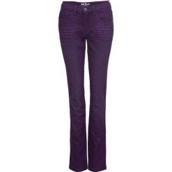 Dżinsy ze stretchem kolorowe STRAIGHT bonprix ciemny lila. Fioletowe jeansy damskie bonprix. Za 109.99 zł.