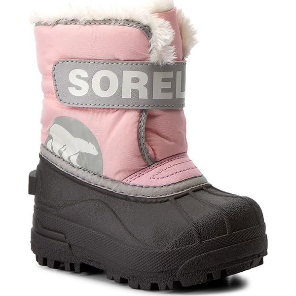 0163c7c4 Śniegowce SOREL - Toddler Snow Commander NV1877 Cupid/Dove 651 ...