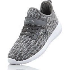 Sneakersy Kappa bonprix szaro-jasnoszary. Buty sportowe dziewczęce marki bonprix. Za 89.99 zł.