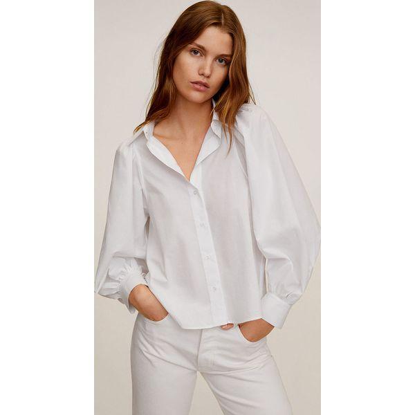 Mango Koszula Balo Białe bluzki damskie Mango, l, bez