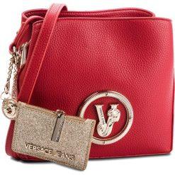 Torebka VERSACE JEANS - E1VSBBV6  70790 500. Czerwone listonoszki damskie Versace Jeans, z jeansu. Za 619.00 zł.