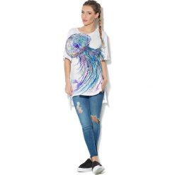 Colour Pleasure Koszulka CP-033  59 biała r. uniwersalny. Bluzki damskie Colour Pleasure. Za 76.57 zł.