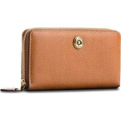 Duży Portfel Damski LAUREN RALPH LAUREN - Millbrook 432688506002  Tan/Orange. Brązowe portfele damskie Lauren Ralph Lauren, ze skóry. W wyprzedaży za 399.00 zł.