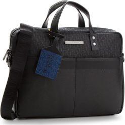 Torba na laptopa TRUSSARDI JEANS - Bocconi 71B00076 K299. Czarne torby na laptopa damskie TRUSSARDI JEANS, z jeansu. W wyprzedaży za 449.00 zł.