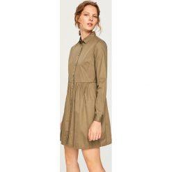 Jeansowa sukienka - Zielony. Zielone sukienki damskie Reserved, z jeansu. Za 99.99 zł.