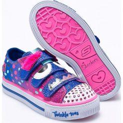Skechers - Tenisówki dziecięce. Buty sportowe dziewczęce marki bonprix. Za 239.90 zł.