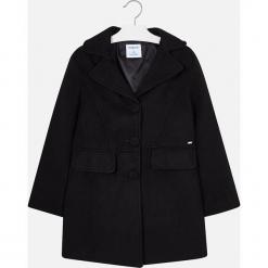 Mayoral - Płaszcz dziecięcy 128-167 cm. Czarne kurtki i płaszcze dla dziewczynek Mayoral, z elastanu. Za 269.90 zł.