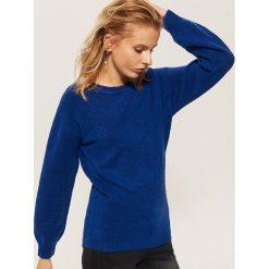 Sweter z szerokimi rękawami - Niebieski. Niebieskie swetry damskie House. Za 59.99 zł.