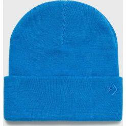 Converse - Czapka. Niebieskie czapki i kapelusze damskie Converse. W wyprzedaży za 69.90 zł.